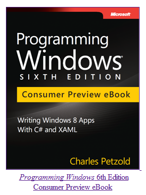 Programming Windows 6th Edition